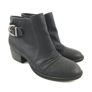 Dr Scholls Ankle Boots Booties Vegan Jazzy Nubuck
